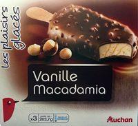 Bâtonnets vanille macadamia les plaisirs glacés x3 - Produit