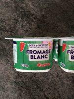 Fromage blanc 7.8% matière grasse - Produit