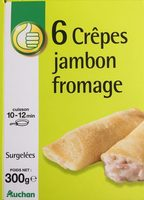 6 Crepes jambon fromage - Product - en