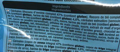 Crousty chocolat au lait - Ingrédients - fr