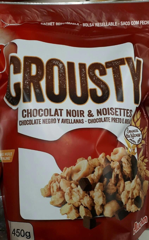 Crousty Chocolat Noir et Noisettes - Product - fr
