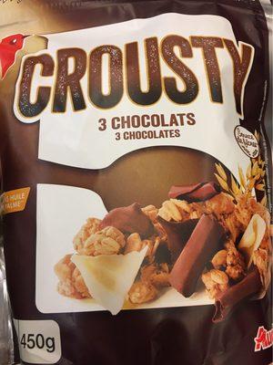 Crousty 3 chocolats - Producto