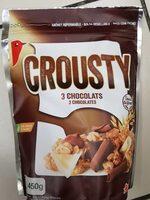 Crousty 3 chocolats - Producto - fr