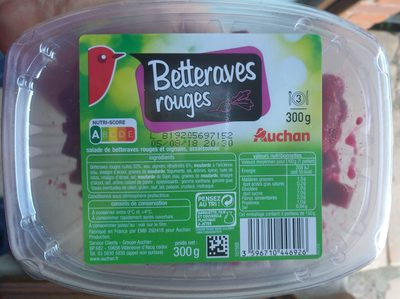 Betteraves rouges - Product