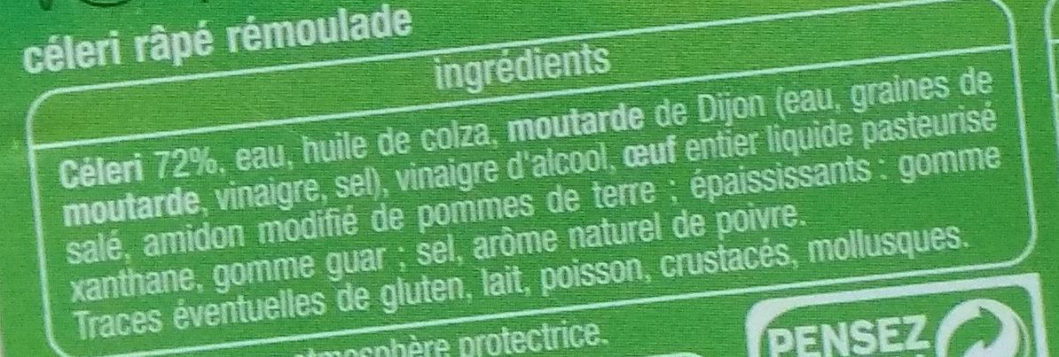 Céleri rémoulade - Ingrediënten - fr