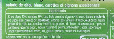 Coleslaw - Ingrédients