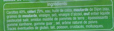 Duo de crudités - Ingrediënten - fr