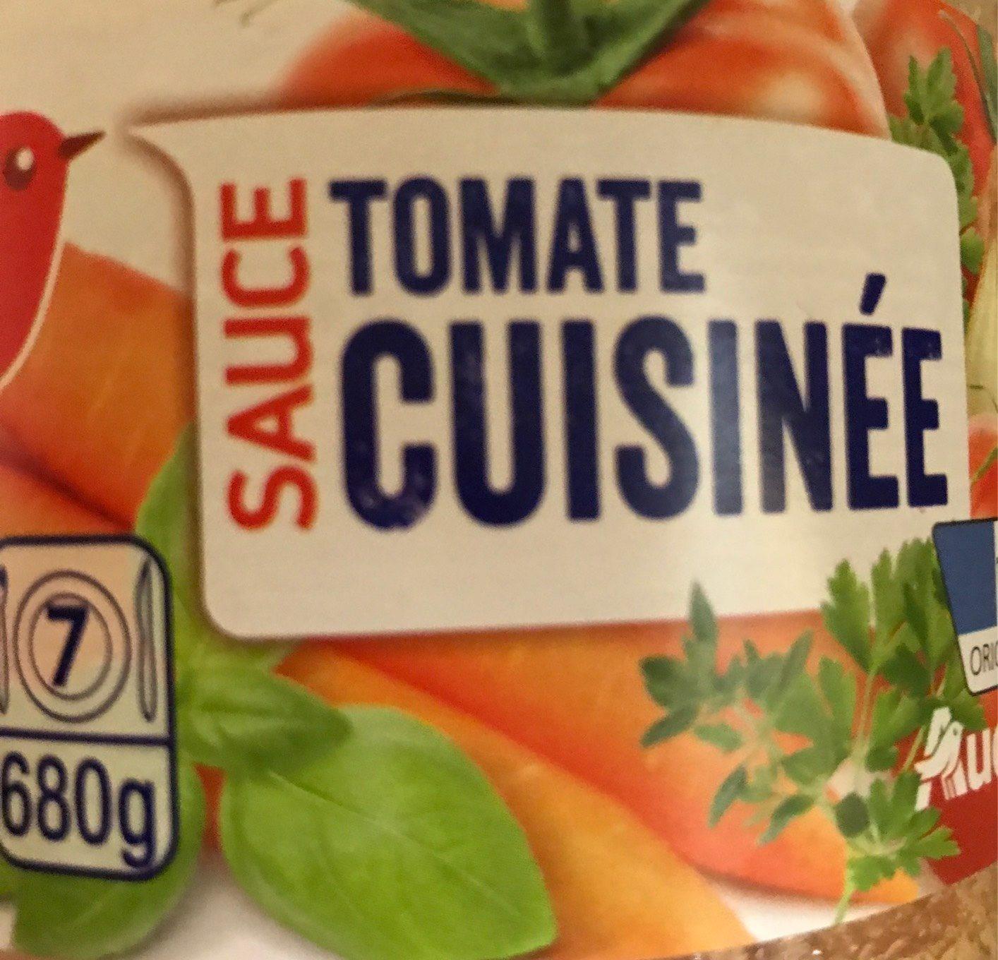 Sauce tomate cuisinee - Produit - fr