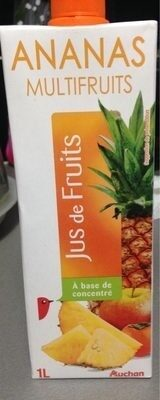 Jus d'ananas multifruits - Produit - fr