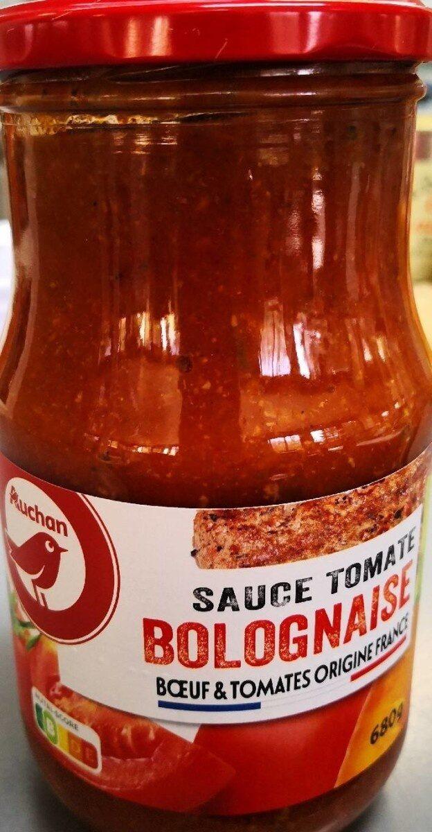 Sauce tomate bolognaise - Produit - fr
