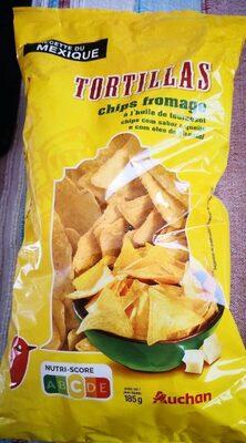 Tortillas chips fromage - Produit - fr