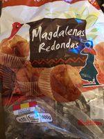 Magdalenas redondas - Producto