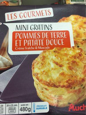 Mini gratins pomme de terre patate douce - Produit - fr