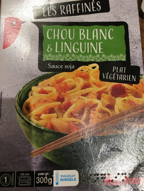 Chou Blanc & Linguine sauce Soja - Produit