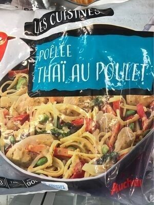 Poêlée Thaï au Poulet - Produit - fr
