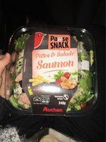 Pâtes et salade saumon - Produit - fr
