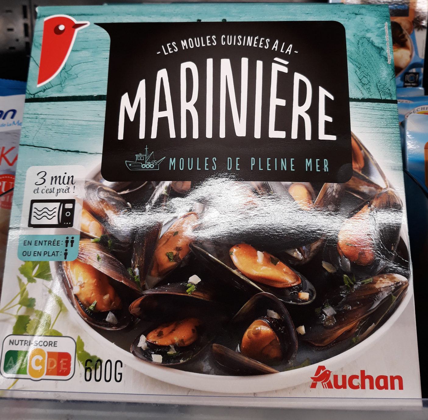 Les moules à la marinière - Produit