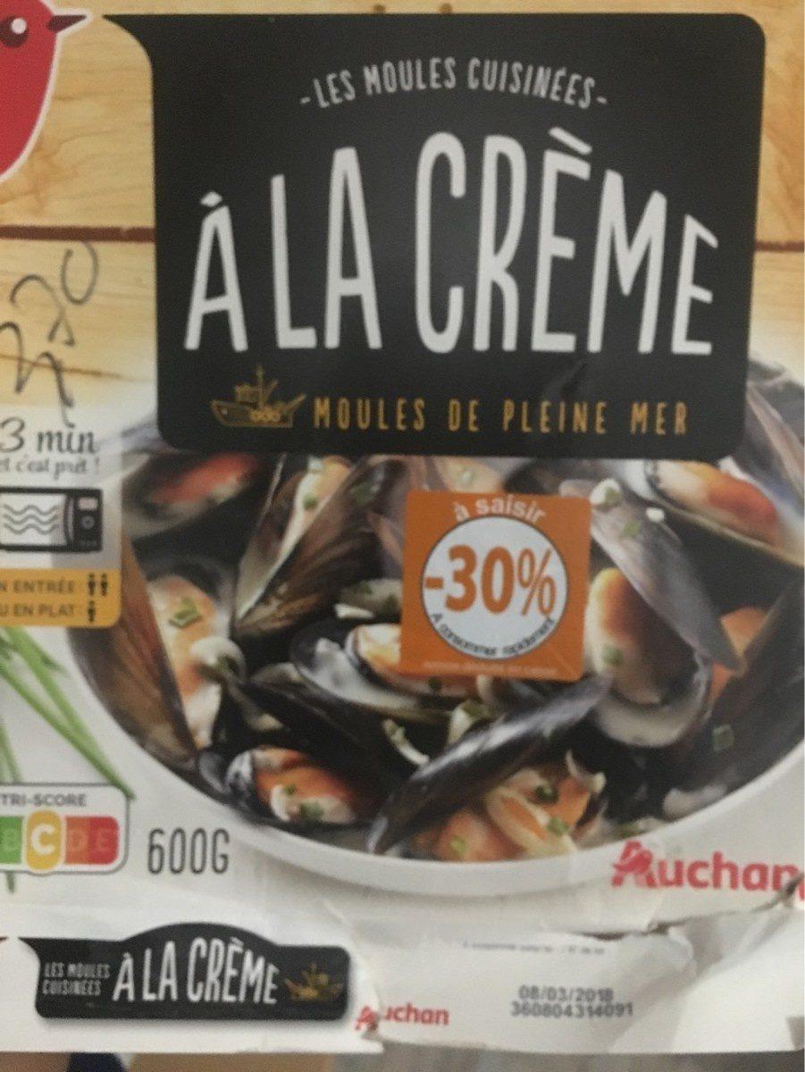 Les Moules Cuisinées à La Crème Auchan 600 G