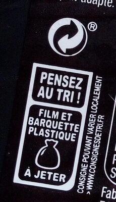 Brandade de morue parmentière - Instruction de recyclage et/ou information d'emballage - fr