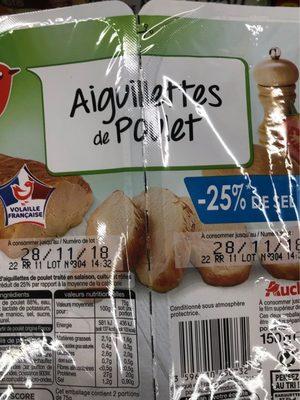 Aiguillette de Poulet -25% de Sel - Product