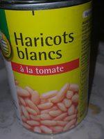 Haricots blancs à la tomate - Produit - fr