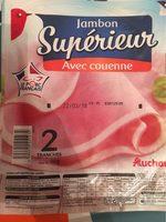 Jambon supérieur avec couenne - Product