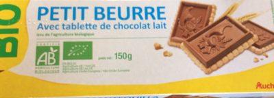 Petit beurre avec tablette de chocolat au lait - Product