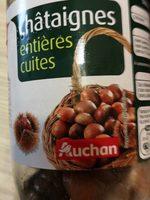 Chataignes entières cuites - Produit
