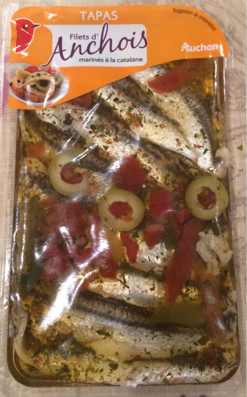 Filets d'anchois marinés à la catalane - Product - fr
