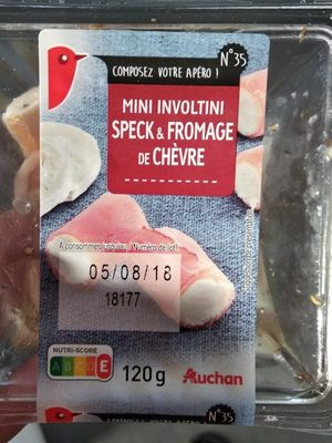 Mini involtinis speck & chèvre - Product