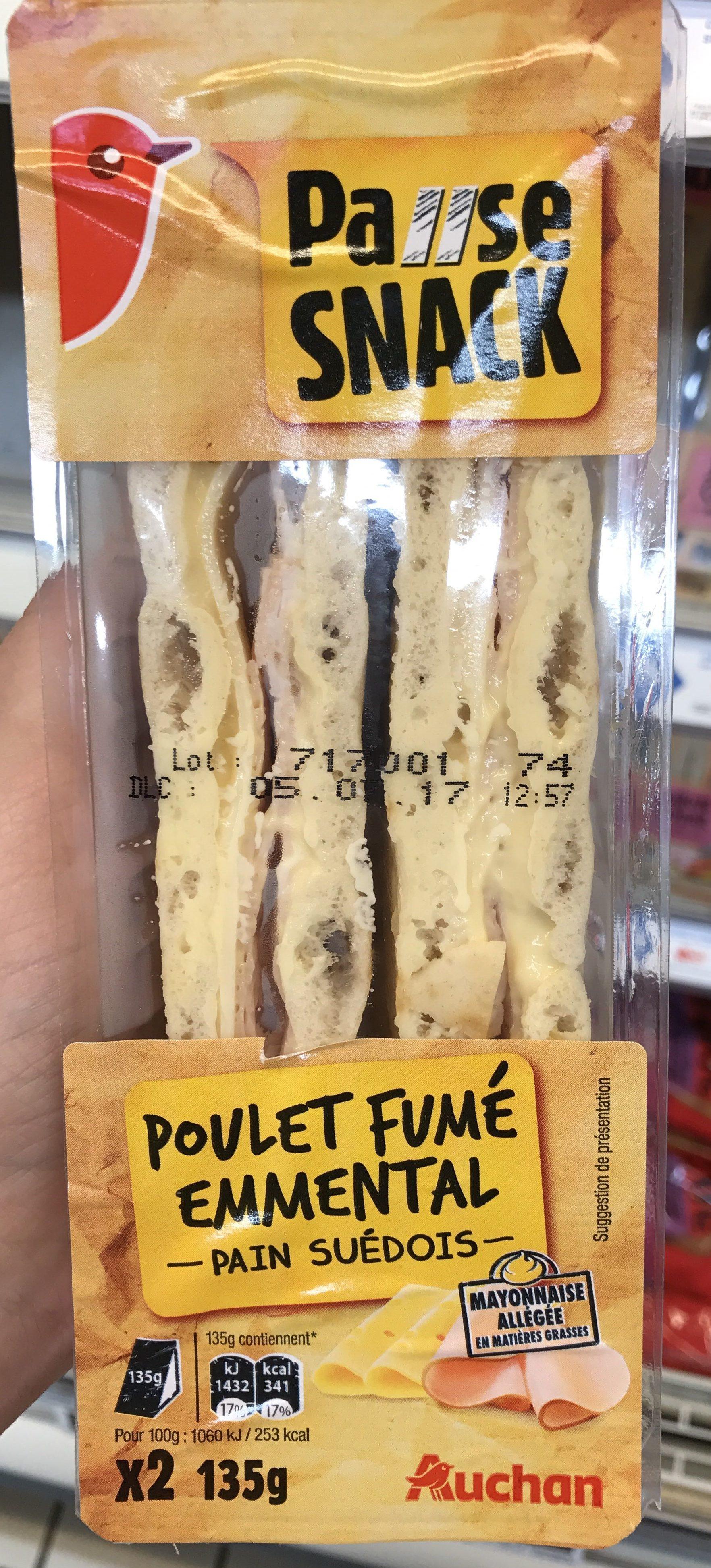 Pause Snack Poulet Fumé Emmental - Product