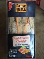 Pause snack poulet bacon cheddar - Product