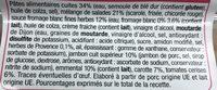 Pates & salade Jambon Emmental - Ingrédients - fr