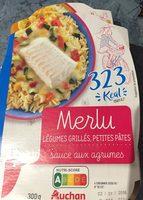 Merlu legumes grilles petites pates - Produit