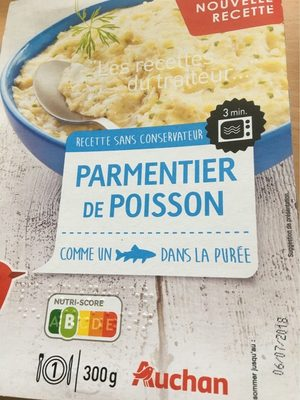 Parmentier de poisson - Product
