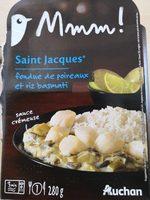 Saint Jacques fondue de poireaux et riz basmati - Produit - fr