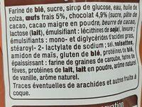 Brioches Fourrées - Ingrédients - fr
