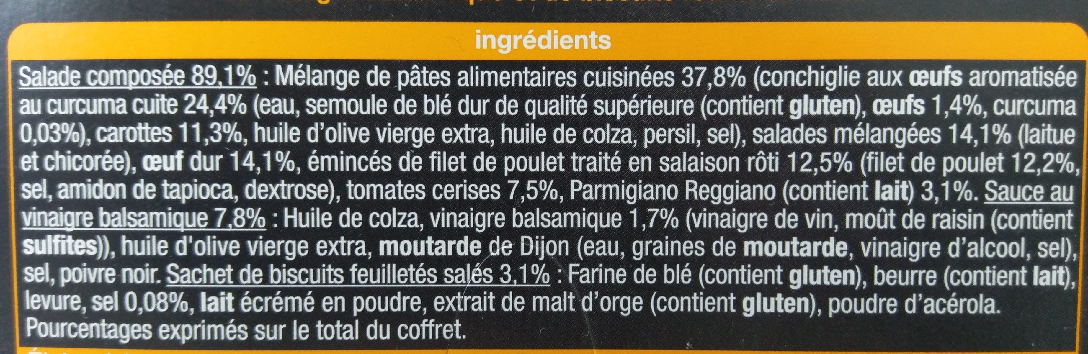 Pause snack poulet rôti - Ingrediënten