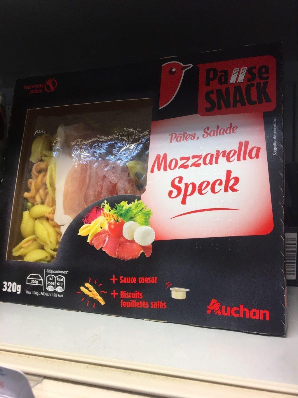 Salade mozzarella speck - Produit - fr