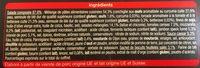 Salade mozzarella speck - Ingrédients - fr