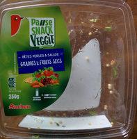 Pause snack veggie pâtes perles et salade graines et fruits secs - Produit - fr