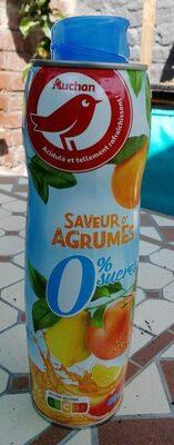 Sirop saveur d'agrumes 0% sucres - Produkt - fr