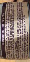 Sirop saveur d'agrumes 0% sucres - Inhaltsstoffe - fr