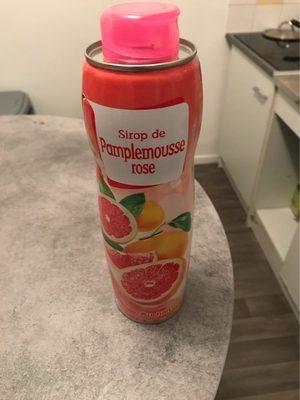 Sirop de pamplemousse rose - Produkt - fr