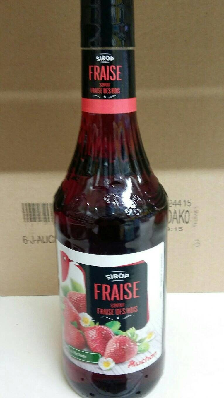 Sirop Fraise - Product