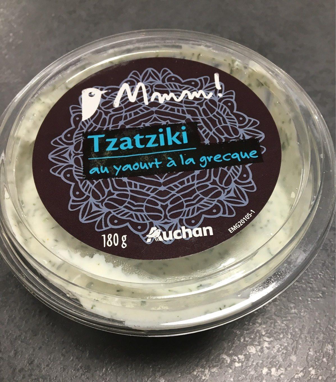 Tzatziki au yaourt à la grecque - Product - fr