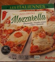Pizza divina mozzarella - Produit - fr