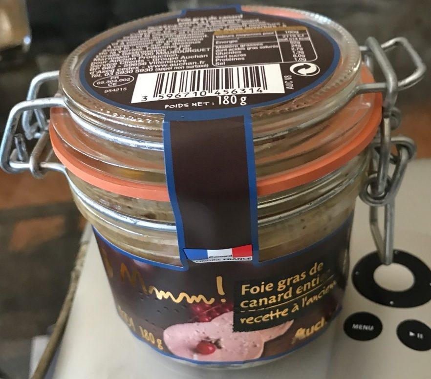Fois gras de canard entier recette à l'ancienne - Product