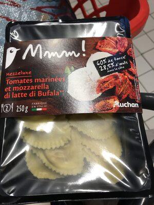 Mezzelune Tomates marinées et mozzarella - Produit - fr