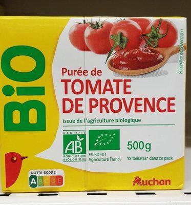 Purée de tomates de Provence bio - Producto